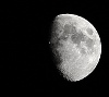 moon as seen from BZ on 24th Oct 2012